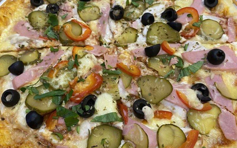 Пицца «С курицей»