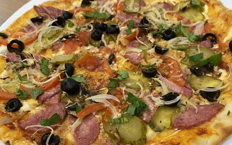 Пицца «Подкова»