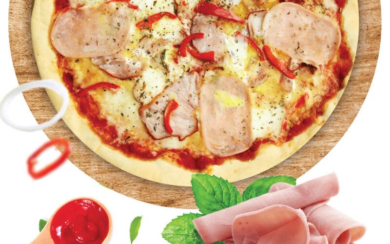 Пицца «Хорватский омлет»