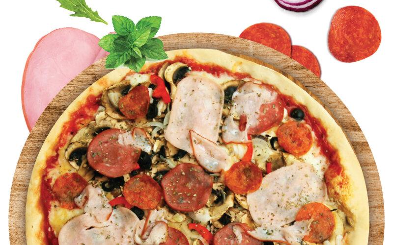 Пицца «Много мяса»