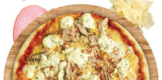 Пицца «Оливье»