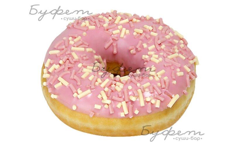 Пончик Donut Клубничный