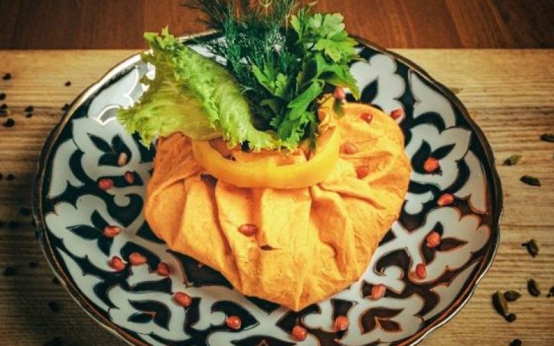 Блюдо «Скромный восток» с бараниной