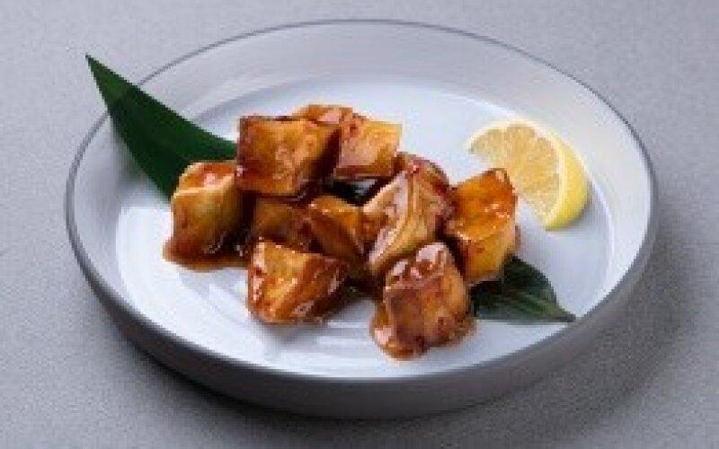 Хрустящие баклажаны в соусе «Шикари»