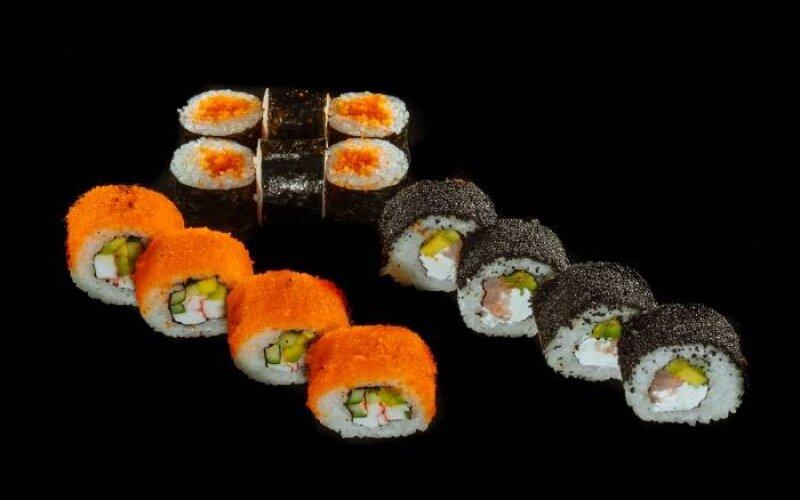 Суши-сет «Мини-тобико»