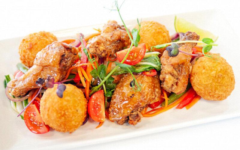 Горячее блюдо «Тори Хабору»