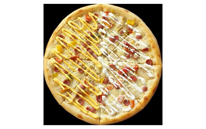 Пицца «Цыплёнок с колбасками»