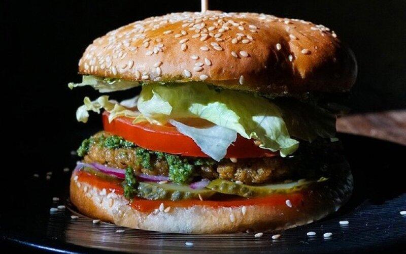 Бургер с «Песто»