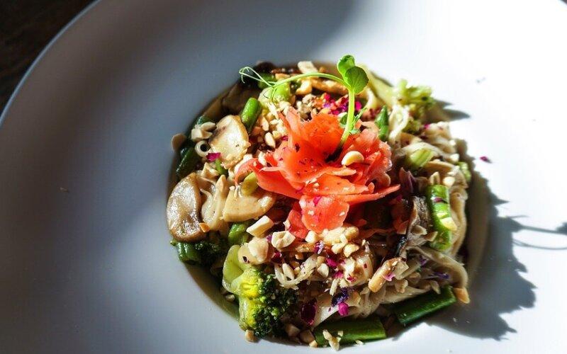 Лапша «Удон» с овощами