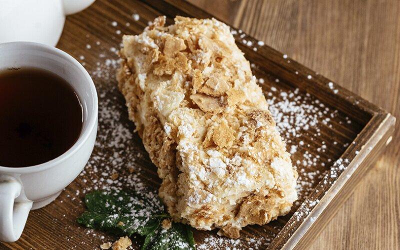 Десерт «Наполеон» домашний