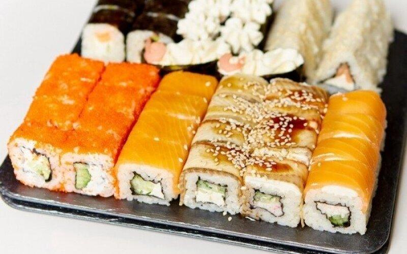 Суши-сет «Макси филамания» с угрём