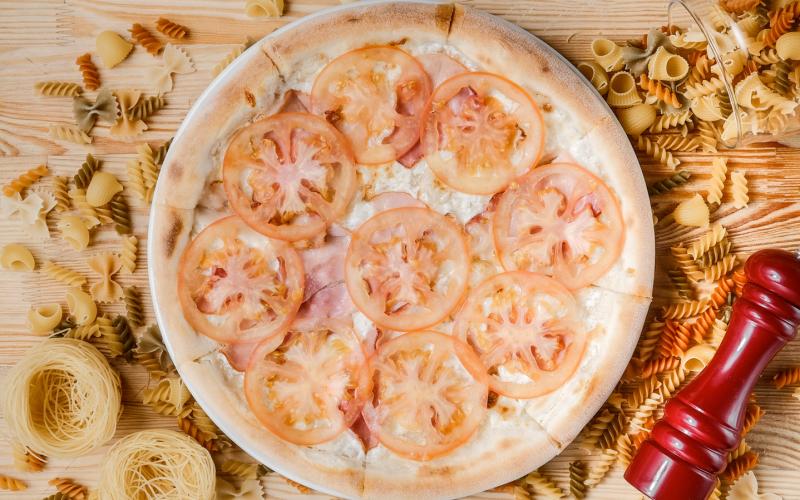 Пицца «Панчетта э Кота»