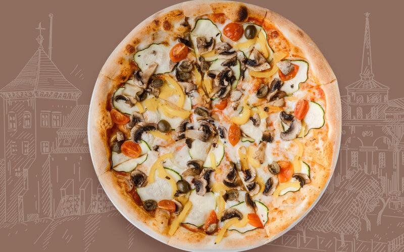 Пицца «Вегетариана»