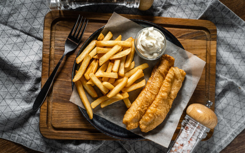 Блюдо «FISH'n'CHIPS»