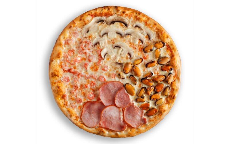 Пицца «Четыре вкуса»