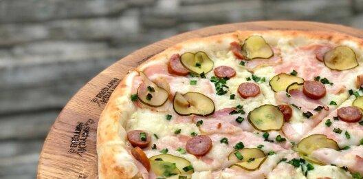 Пицца «Богатырская»