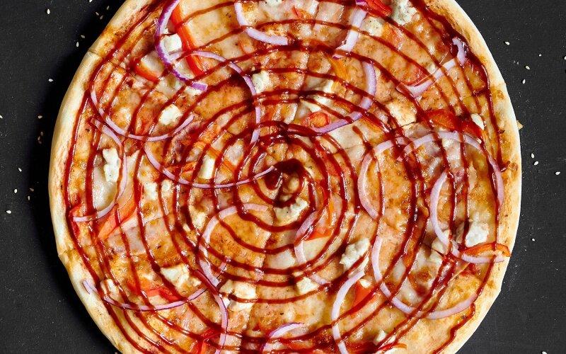 Пицца «Курочка барбекю»