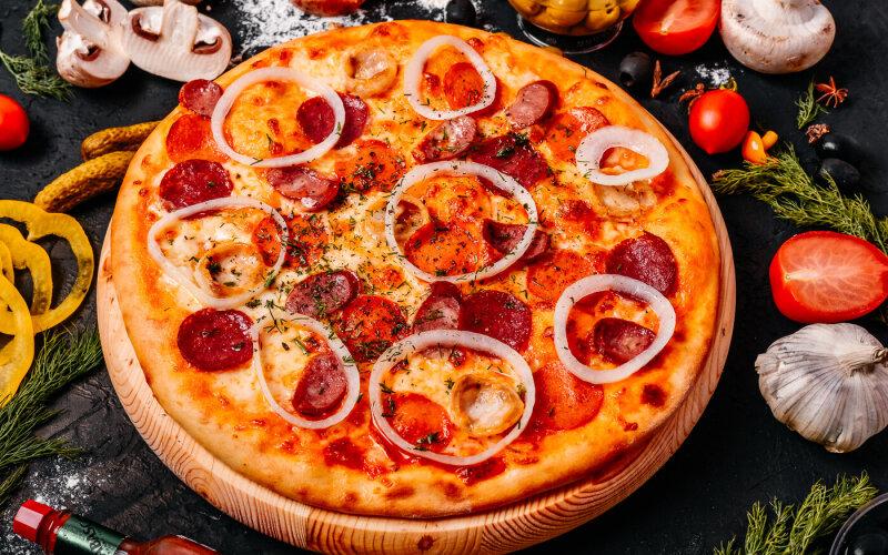 Пицца «Мюнхенская»