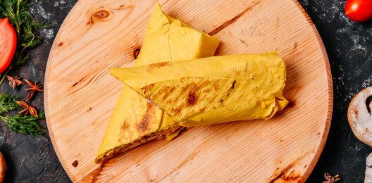Шаурма с двойным сыром