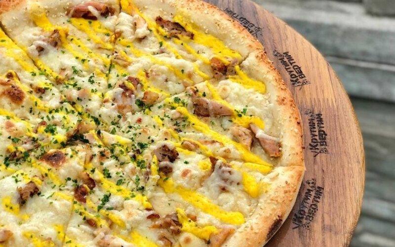 Пицца «Сырный цыпленок »
