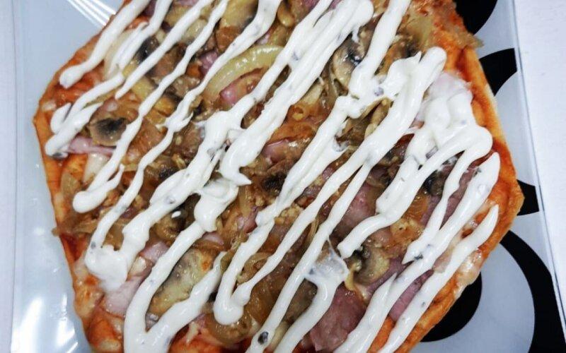 Bubble-пицца «Ветчина и грибы»