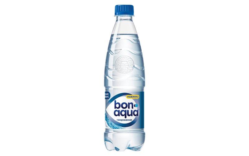 Вода питьевая «BonAqua» газированная