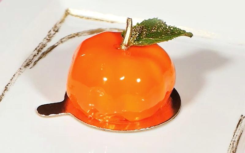 Десерт «Цитрус мэджик»