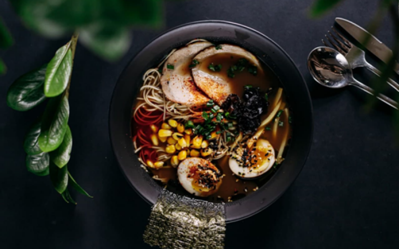 Суп «Сёю рамен»