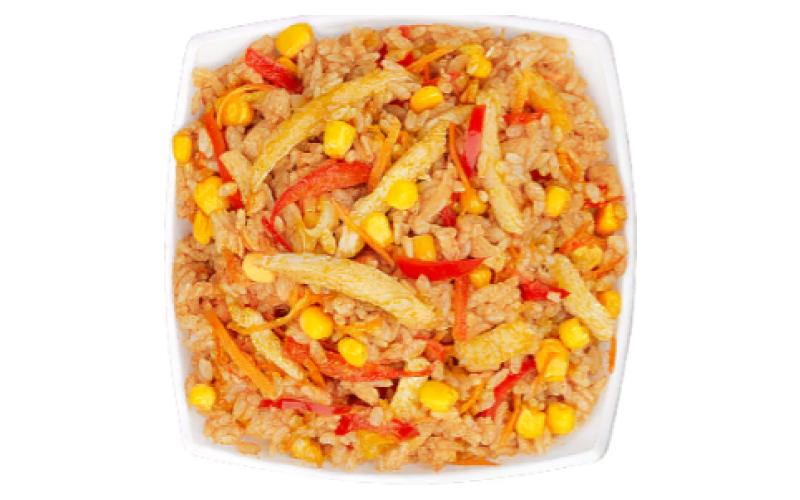 WOK «Карри с рисом»