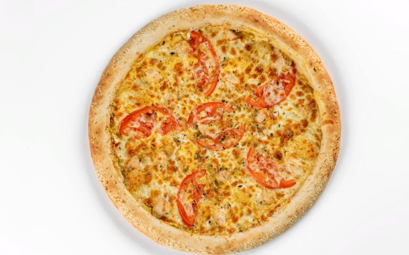 Пицца «Сырный цыпленок»