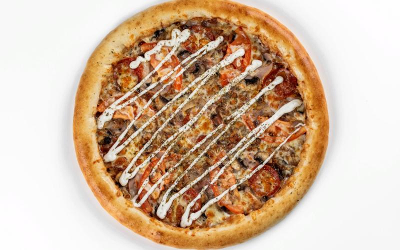 Пицца «Мясо Барбекю де люкс»