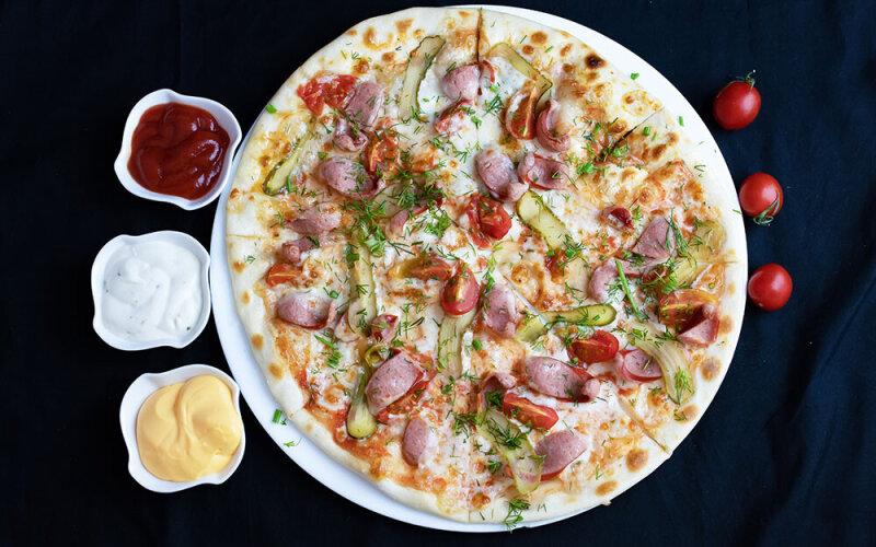 Пицца «Хантер»