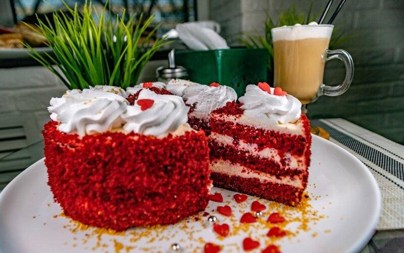 Десерт «Красный бархат»