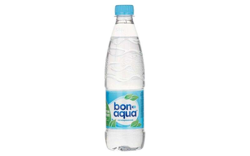 Вода «BonAqua» негазированная