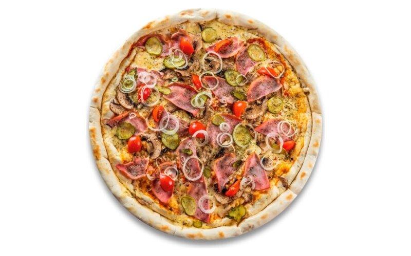 Пицца с двойным сырным дном «Давинчи»