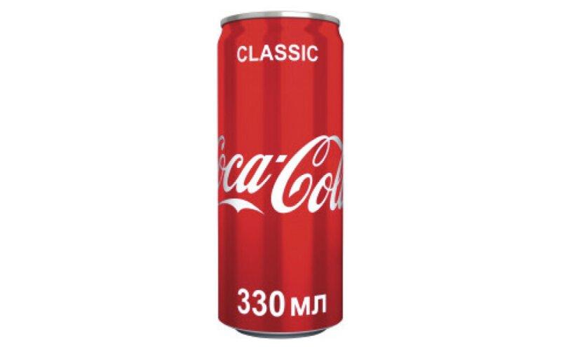 Напиток газированный Coca Cola
