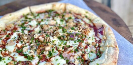 Пицца «Цыплёнок барбекю»