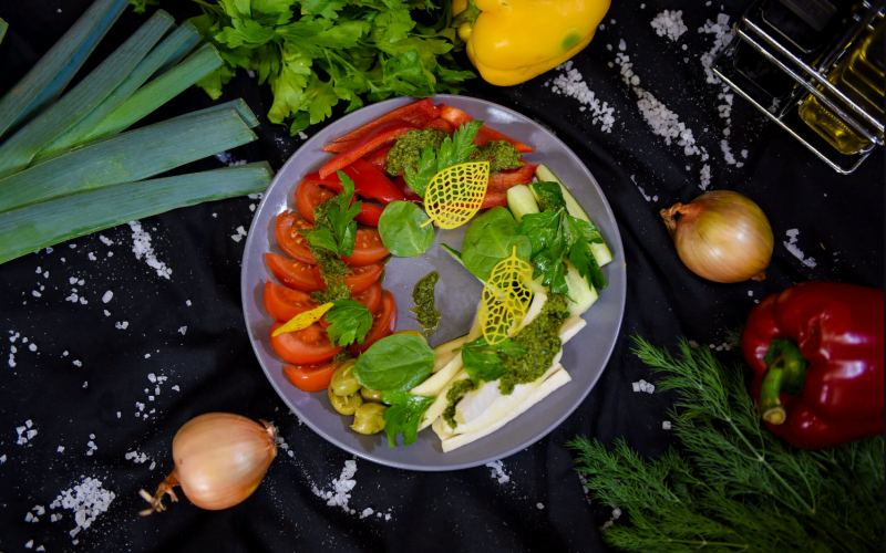Фермерские овощи в маринаде