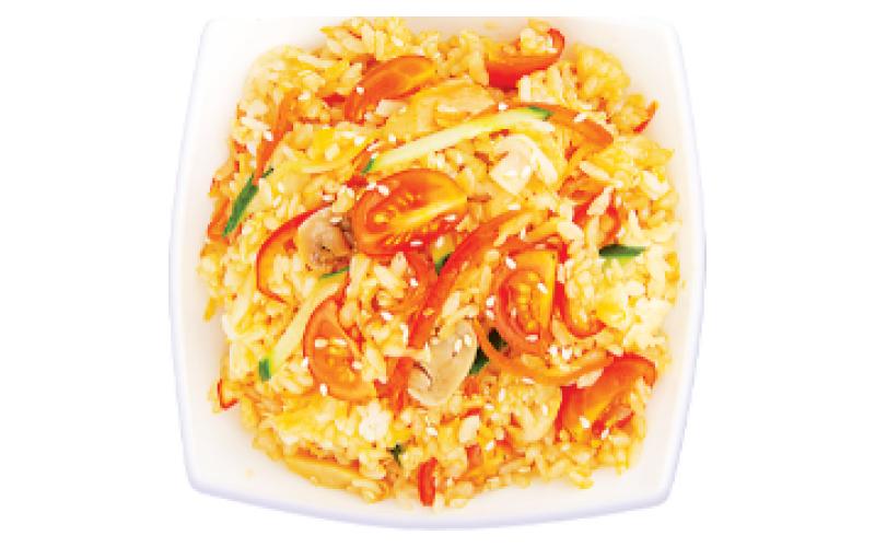 Wok вегетарианский с рисом
