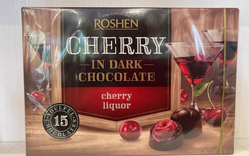 Конфеты шоколадные «Roshen» с вишнёвым ликёром