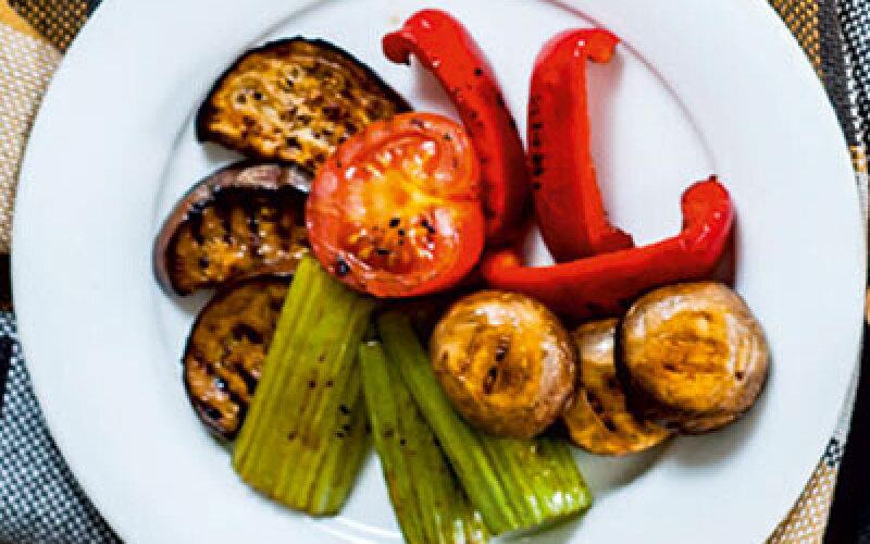 Овощи с гриля