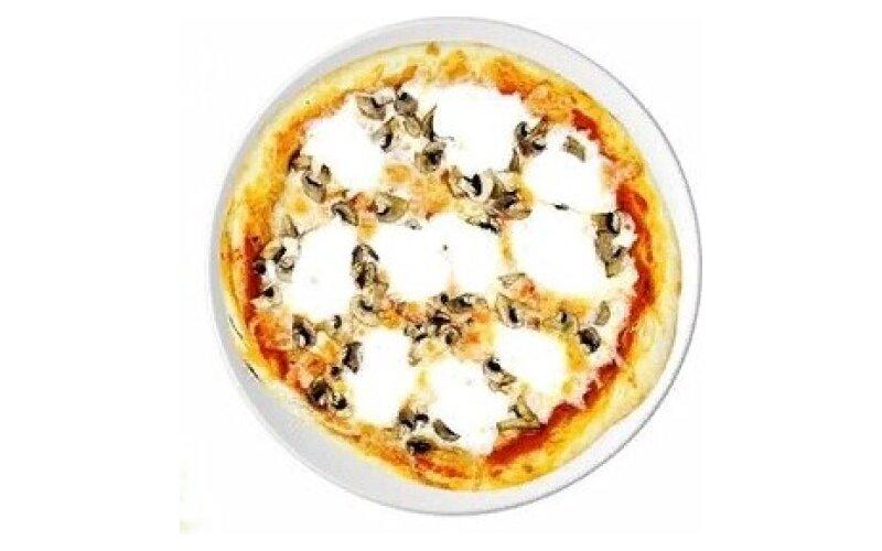 Пицца «Сливочная» с грибами