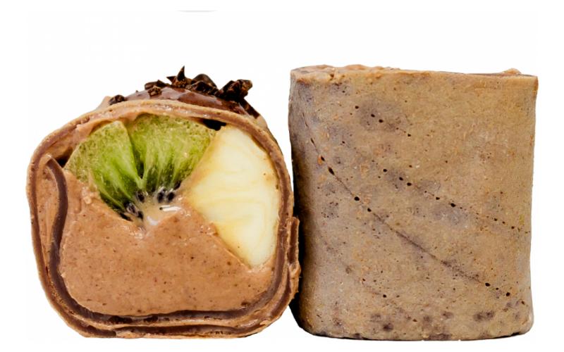 Ролл «Шоколадный банан-киви»