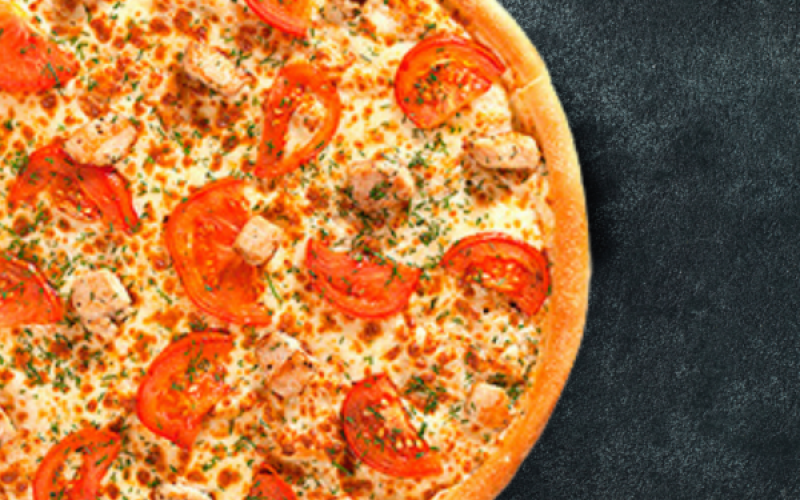 Пицца Курица/помидоры