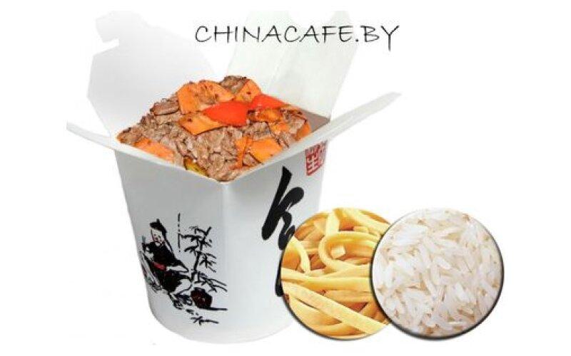 Свинина с овощами Те Бань-Шао