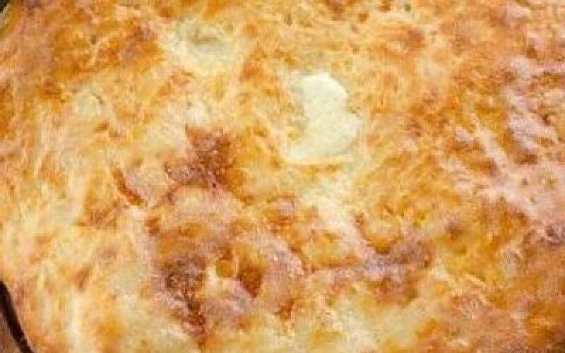 Пирог картофель с сыром