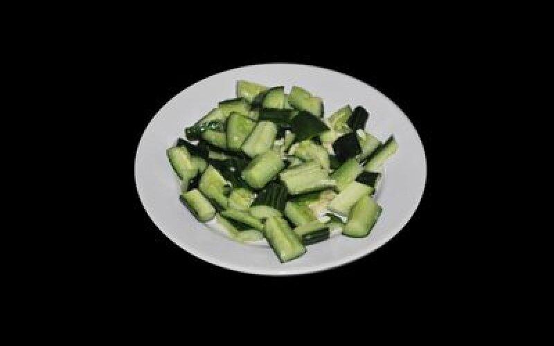 Салат из огурцов и чеснока