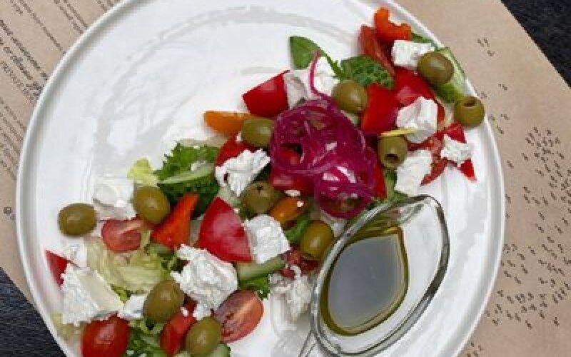 Греческий салат Нежный укус