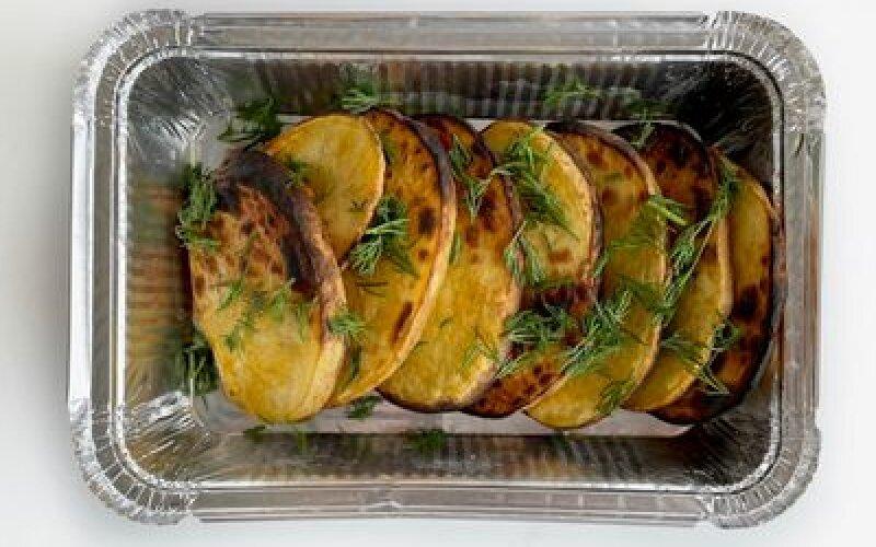 Картошка на гриле