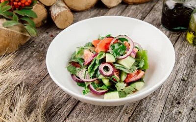 Южный овощной салат